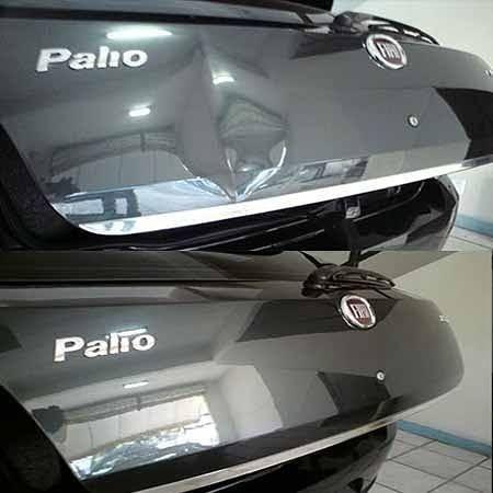 Restauração de parachoque automotivo