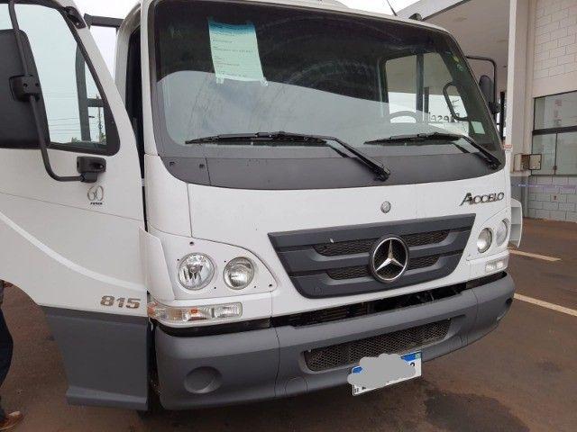 Mercedes MB Acelo Accelo 815 novo 2021 com carroceria nova R$ 275.000. - Foto 3