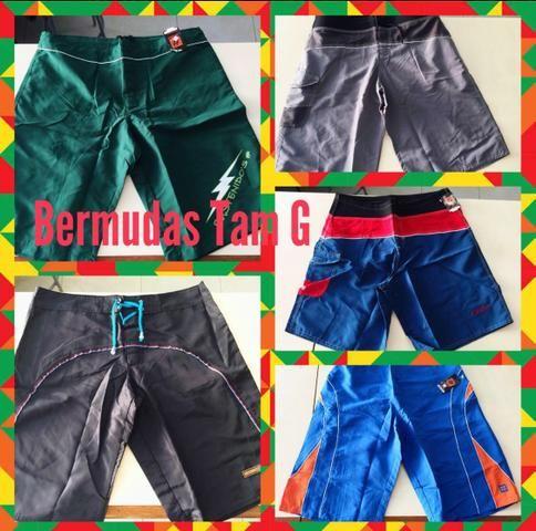 Shorts/ bermudas p homem. Novos