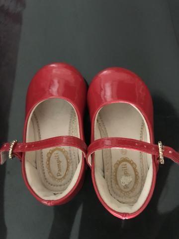 Vendo sapato pampili tamanho 19