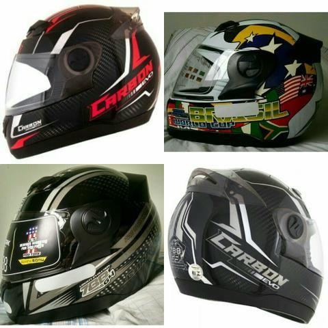 Capacete moto, Speed, F1, Cross, Articulado