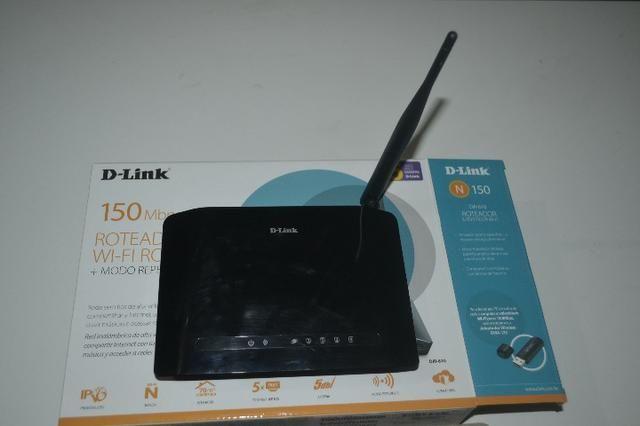Roteador Wi-Fi D-Link DIR-610 (novo)