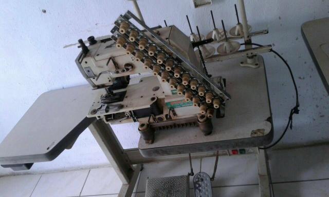 5 Maquinas de Costura em perfeito funcionamento