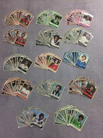 Coleção Ping Pong Futebol cards