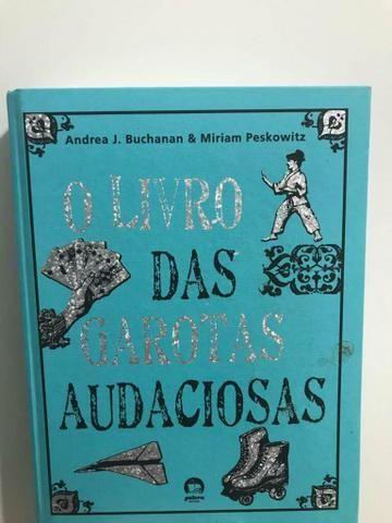 Espetacular literatura juvenil. livro das garotas audaciosas