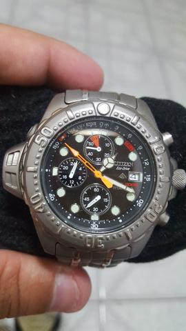 Citizen Aqualand Jp3740 Titanium Eco drive
