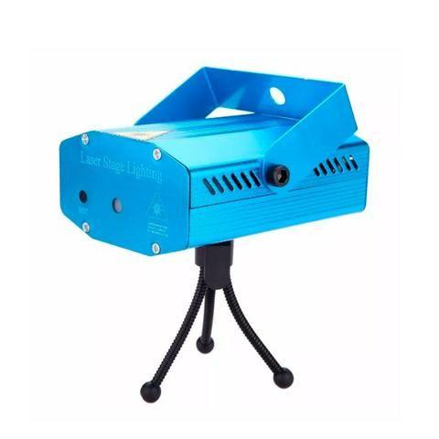 Mini Laser Stage Lighting Projetor Holografico 4 Desenhos - Foto 4