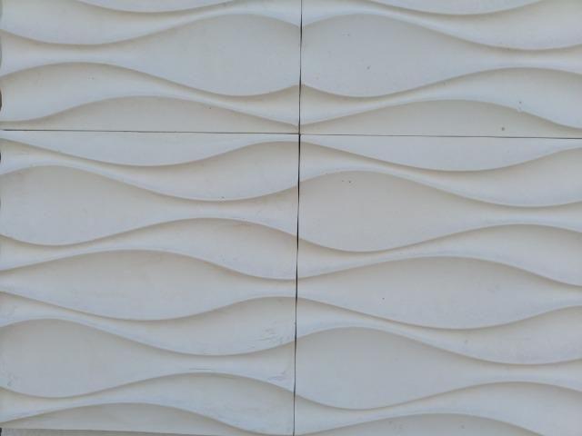 Revestimento 3D de gesso para parede - Foto 4
