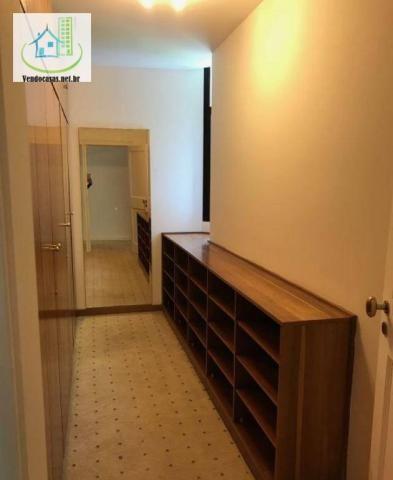 Apartamento com 5 dormitórios para alugar, 541 m² por r$ 23.000/mês - santo amaro - são pa - Foto 19