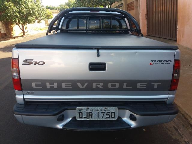 S10 colina 2006 CS prata diesel - Foto 7
