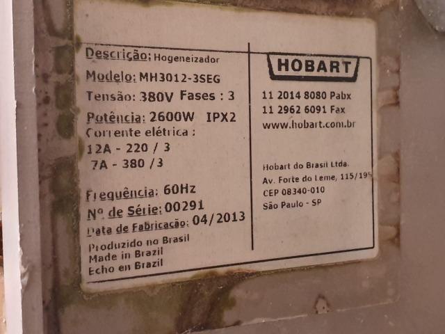 Moedor Hobart Mh 3012 - 3 Seg - Foto 5