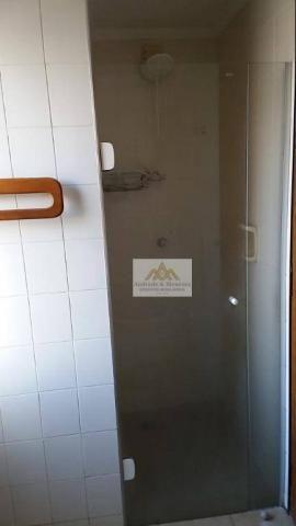 Apartamento com 3 dormitórios para alugar, 107 m² por r$ 1.300/mês - centro - ribeirão pre - Foto 16