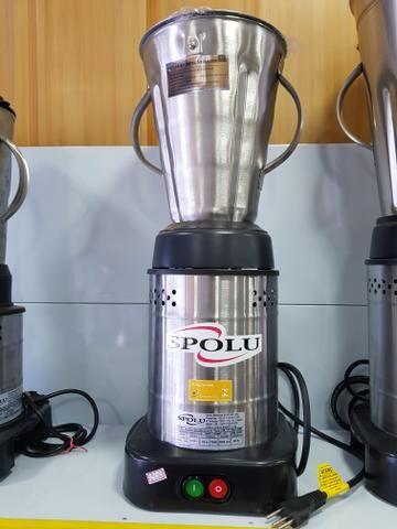 Liquidificador industrial baixa rotação - 4 Litros INOX