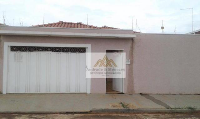 Casa com 3 dormitórios à venda, 195 m² por r$ 450.000 - jardim das acácias - cravinhos/sp