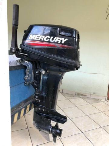 Motor de popa Mercury 15 Hp Super - Foto 2