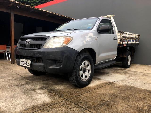 Toyota Hilux CS 2.5 turbo 4x4 Diesel -carroceria de madeira (valor para venda) - Foto 3
