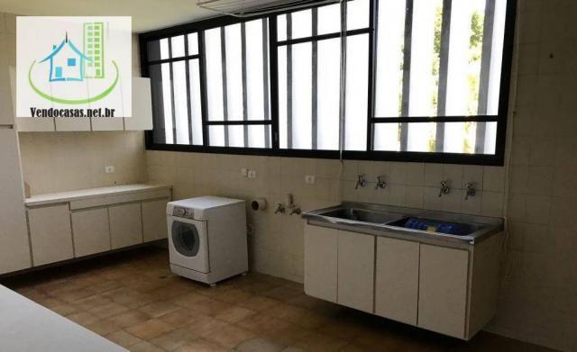 Apartamento com 5 dormitórios para alugar, 541 m² por r$ 23.000/mês - santo amaro - são pa - Foto 9