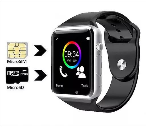 Relogio C Chip Bluetooth Ios Android Smartwatch Original A1