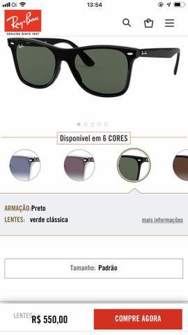 9595c8b3d845f Óculos rayban barato pra vender hj - Bijouterias
