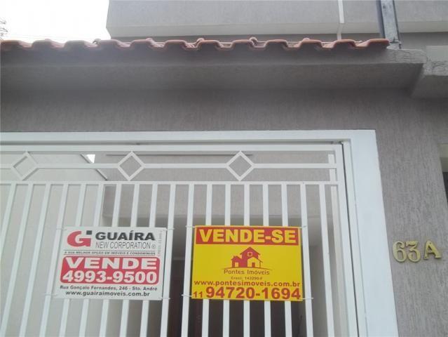 Sobrado à venda, 3 quartos, 2 vagas, stella - santo andré/sp - Foto 16