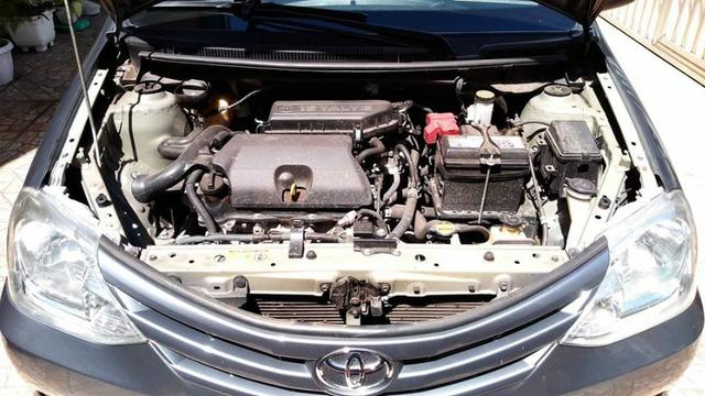 Toyota Etios 1.5 Sedan 2013 Flex Conservado IPVA e Licenciamento 2020 Pagos - Foto 6