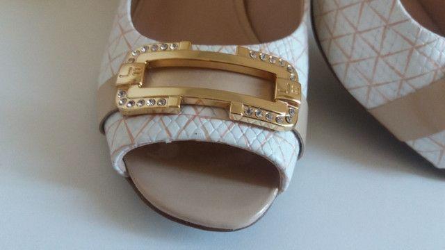 Bolsa + Sapatos Peep Toe Jorge Bischoff Puro Glamour! - Foto 2