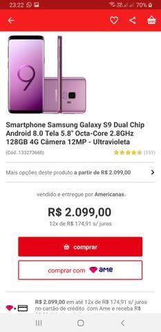Galaxy S9 128 gb Novo em Lajedo! - Foto 2