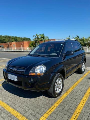 Hyundai Tucson 2012 GLS-B Preto Automático e Banco de Couro - Foto 8