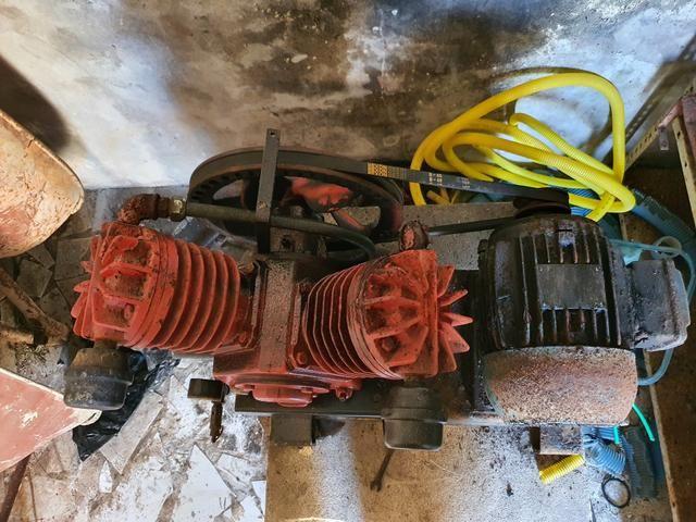 Compressor de ar sem bujão