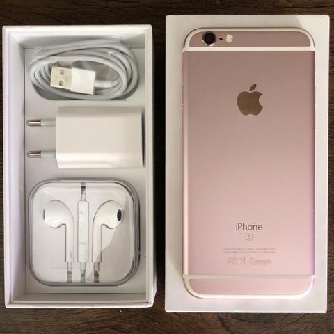 IPhone 6s Rose de 32GB Todo Original Tudo funciona Bateria Nova Parcelo no Cartão