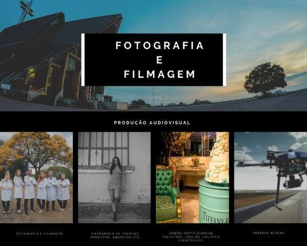 Fotógrafo, Filmagem e Imagens Aéreas