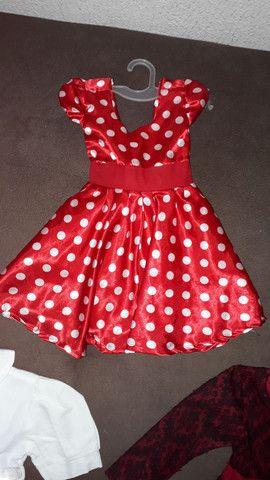 Maravilhosos Vestido da Minnie - Foto 3