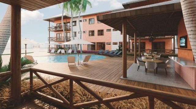 Porto Vende Flat Resort Villa Atlântida Luis Correia Praia de Atalaia - Foto 10