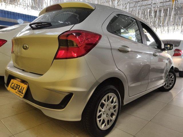 Ka Hatch 1.0 SE Prata 2020 - Foto 2