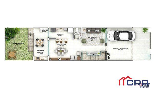 Casa com 3 dormitórios à venda, 163 m² por R$ 650.000,00 - Jardim Belvedere - Volta Redond - Foto 2
