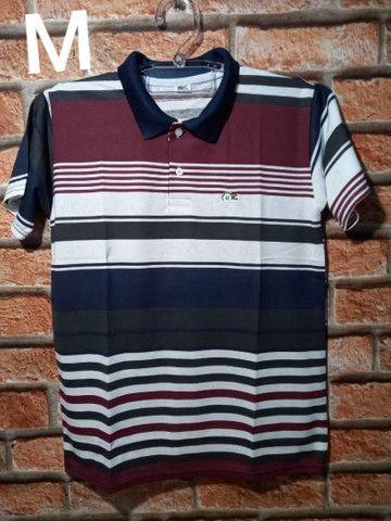 Camisas Gola Pólo: (P) (M) (G) e (GG) - Foto 2