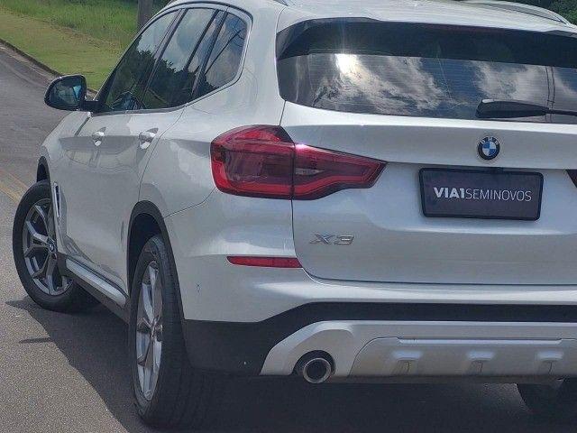 BMW X3 Xdrive20i 2.0 Biturbo 4x4 - 2020 - Impecável c/ Apenas 9.000km - Foto 7