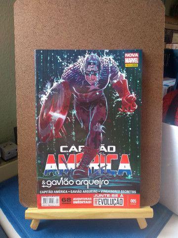 Capitão América & Gavião Arqueiro #5