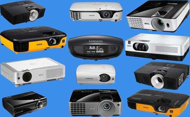Manutenção e vendas de projetores novos e usados.