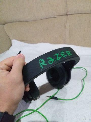 Headset Gamer Razer Kraken Essential Usado - Foto 4