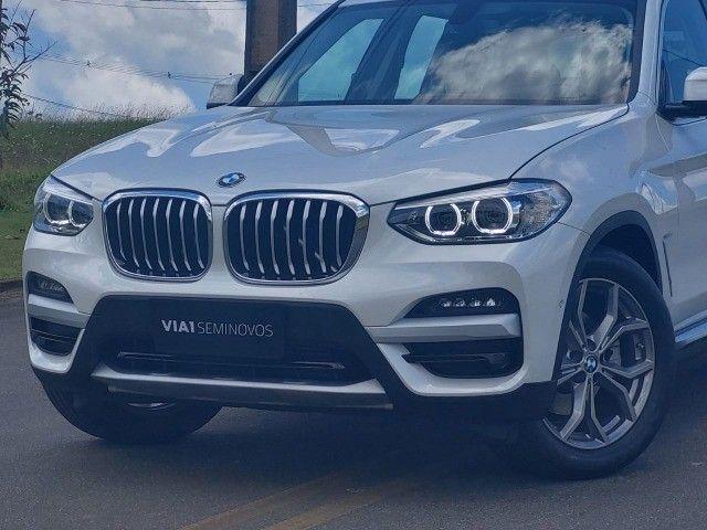 BMW X3 Xdrive20i 2.0 Biturbo 4x4 - 2020 - Impecável c/ Apenas 9.000km - Foto 2