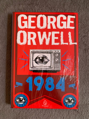 Livro: 1984 (George Orwell) - LACRADO
