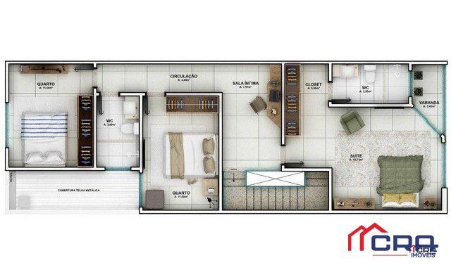 Casa com 3 dormitórios à venda, 163 m² por R$ 650.000,00 - Jardim Belvedere - Volta Redond - Foto 4