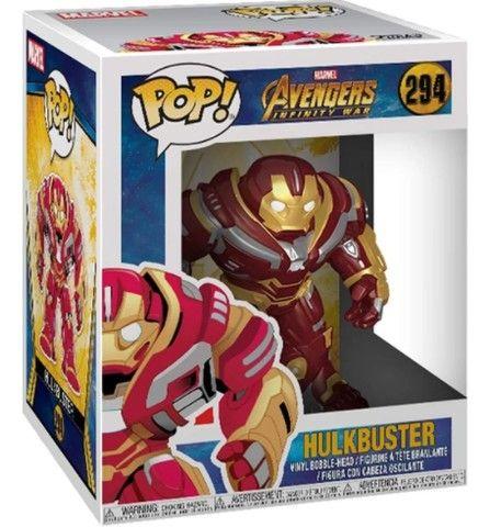 Boneco Funko Pop Marvel Avengers Vingadores Hulkbuster