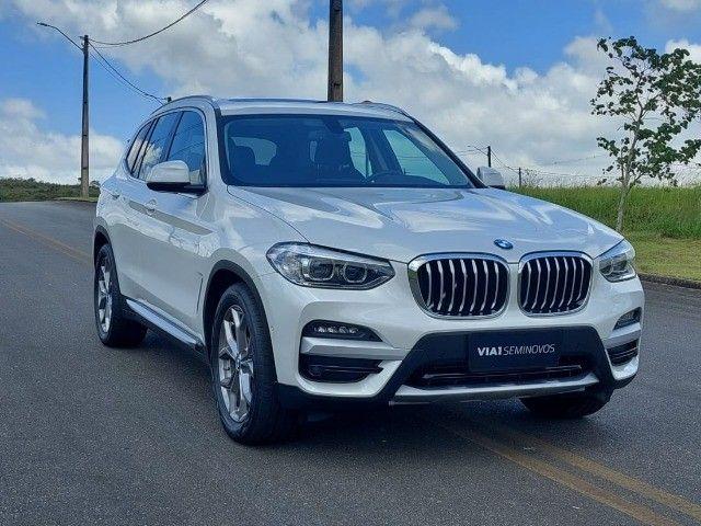 BMW X3 Xdrive20i 2.0 Biturbo 4x4 - 2020 - Impecável c/ Apenas 9.000km - Foto 3