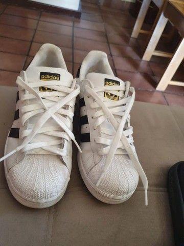 Tênis Adidas superstar original. - Foto 3