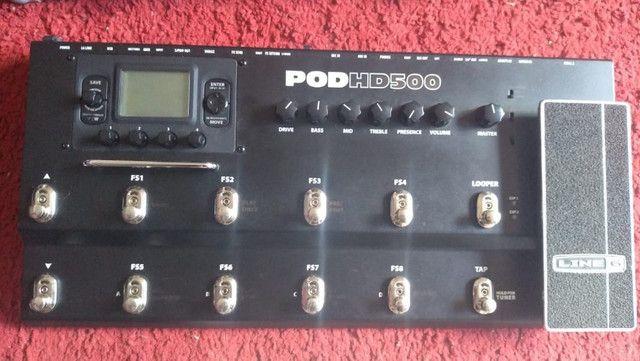Pod HD500 + Hardcase parcelo no cartão/ML aceito GT100