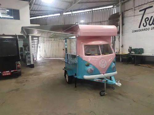 Trailler Kombi Food Truck Corujinha (sob Encomenda)<br><br> - Foto 3
