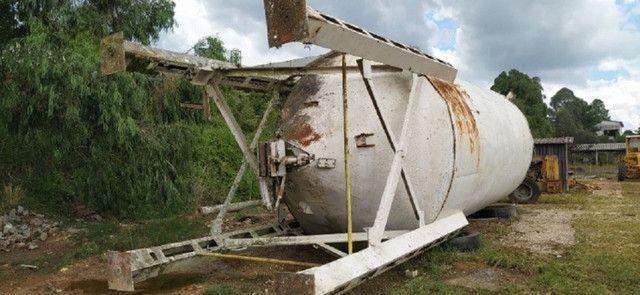 Silo Metálico para 100 ton - Para Cimento, Calcário e Outros Minerais - #8337 - Foto 3