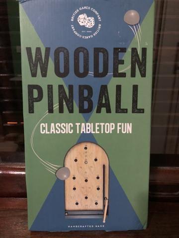 Jogo Wooden Pinball